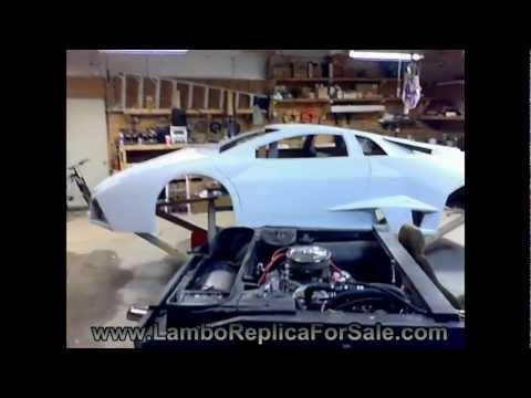 Lamborghini Reventon Replica Update. Progress Made on Kit Car Prototype.