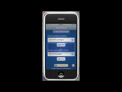 How to backup packages for iPod Touch or iPhone
