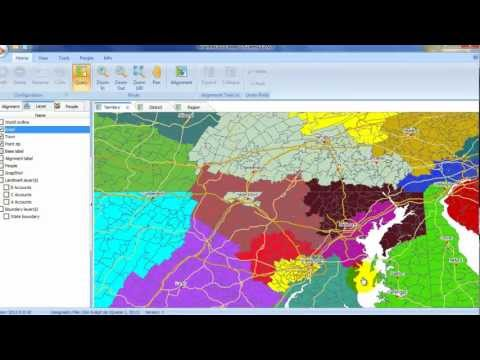 AlignMix Sales Territory Mapping Express Demo