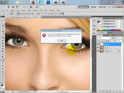 How To Change Eye Color in Photoshop - Eyes lens Effect - VidHiPPO.COM