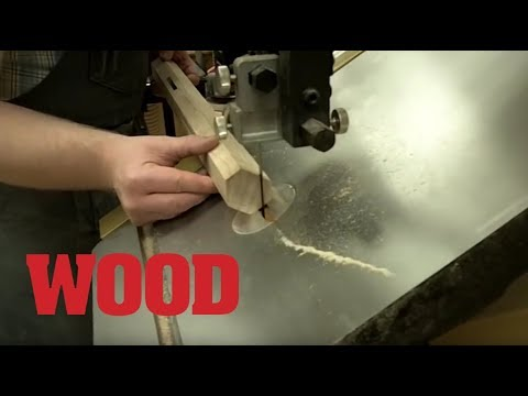 How to Taper Hexagonal Table Legs -- WOOD Magazine