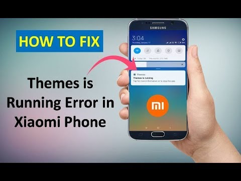 How to Fix Theme is Running Error in Xiaomi Phone