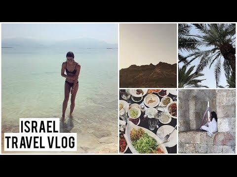 THINGS TO DO IN ISRAEL | TRAVEL VLOG TEL AVIV, DEAD SEA, JERUSALEM