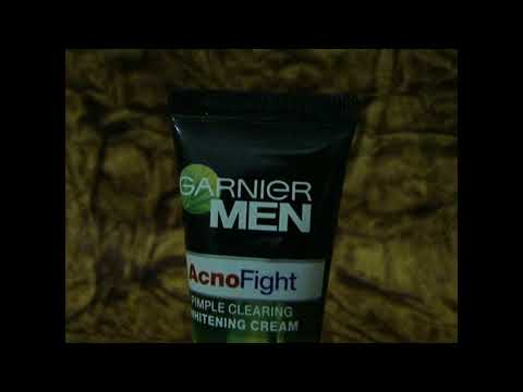 Garnier Men Acno Fight Whitening Creme Review - Glam & Swag