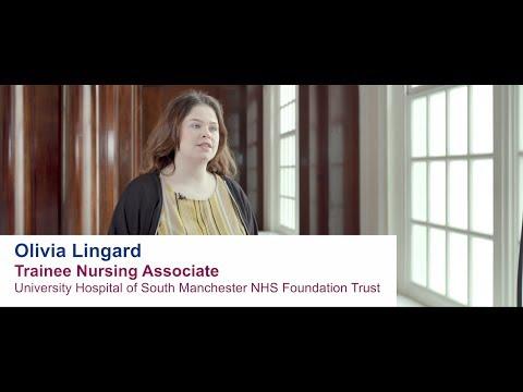 Olivia Lingard - Trainee Nursing Associate, University Hospital of South Manchester