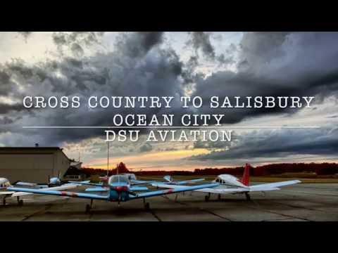 Cross Country Flight to Salisbury-Ocean City Airport (KSBY)