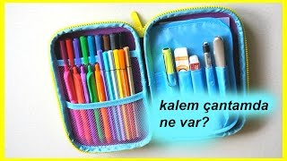 Kalem Çantamda Ne Var?