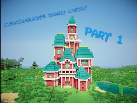 How to build LDShadowLady's disney castle | Part 1