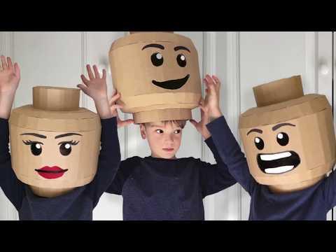 How to make a cardboard Brickhead costume