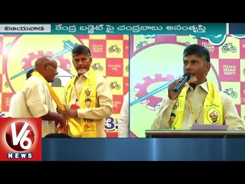 AP CM Chandrababu says Union Budget Ignores State's Requirements | AP News