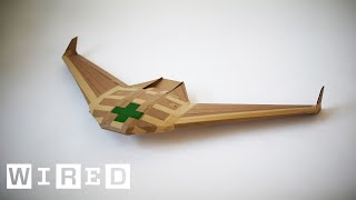 This Drone is Designed to Save Lives Then Disappear   WIRED
