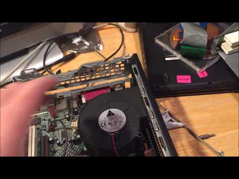 Hp Compaq d530 Heatsink Removal Tutorial