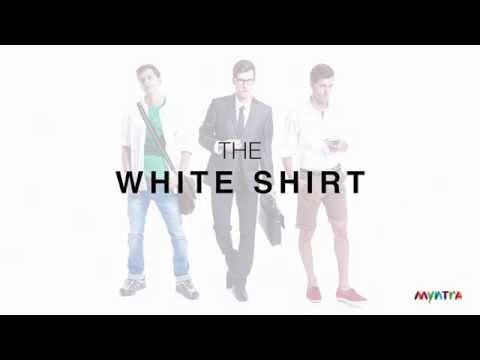 White Shirt : 3 ways to Wear White Shirt