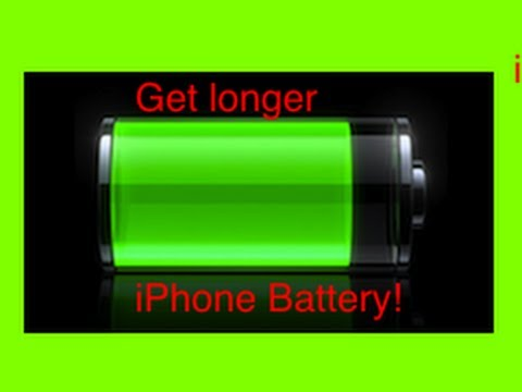 Save your iPhone's Battery!