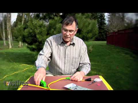 Roadee Installation and Coiling Demonstration | http://twistfree.com