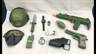 Toy guns set   military equipment toys Special Force Combat