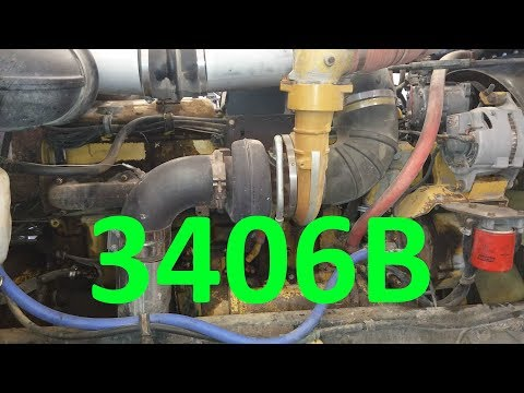 The Cat 3406B Engine. Know Your Engine.  Caterpillar 3406 Information And History.