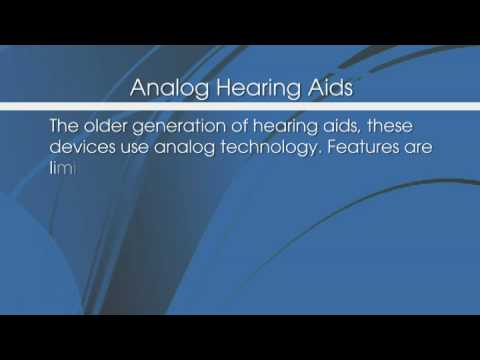 Hearing Aid Options - A Review Of Different Hearing Aid Technologies