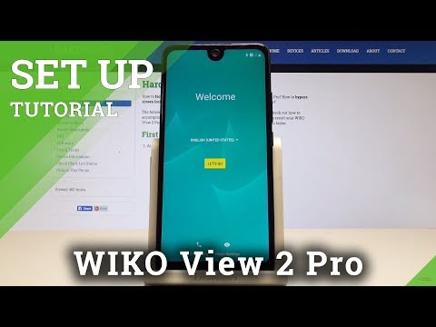 How to Activate WIKO View 2 Pro - Set Up Process / Configuration