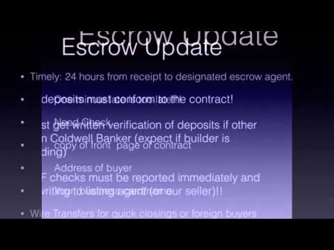 Take Two - Escrow Deposits