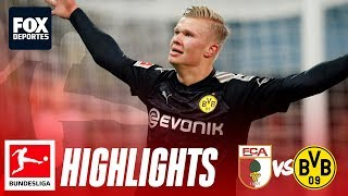 Augsburg 3-5 Borussia Dortmund | HIGHLIGHTS | Bundesliga | Jornada 18