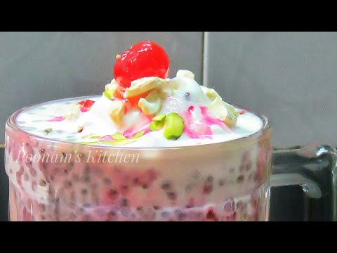 Refreshing and Rich Summer Special Cold Indian Dessert-Delicious Restaurant Style Royal Falooda