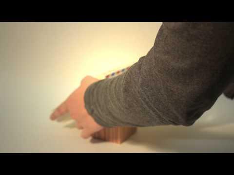 matchus wood bookmark