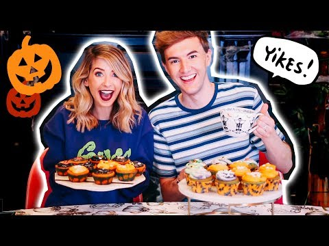 Halloween Cupcake Bake Off Challenge | Zoella