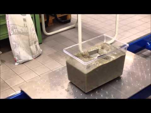 Case 6: Soil liquefaction - Shaking table test