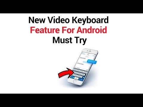 How To Enable Video Keyboard In Your phone 2018   piddi tech tv