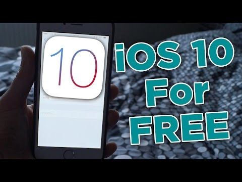 How To Get iOS 10 For FREE! - iOS Developer Beta 1 - Install iOS 10 Without A Computer - iOS 10 FREE