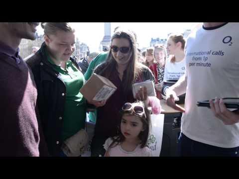 O2 International Sim at St. Patrick's Day 2014