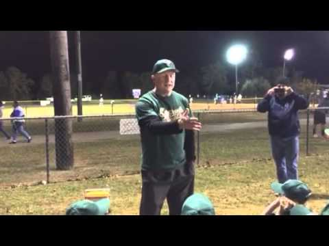 Little League Pregame Speech (
