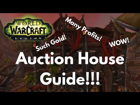 WoW Legion Auction House Guide for Crafted Items and More!