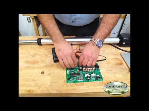 How to: Test your limit switches on Estate Swing Linear Gate Openers