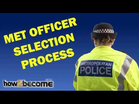 Metropolitan Police Officer Selection Process Breakdown