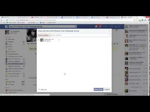 Creating a Facebook Group Page