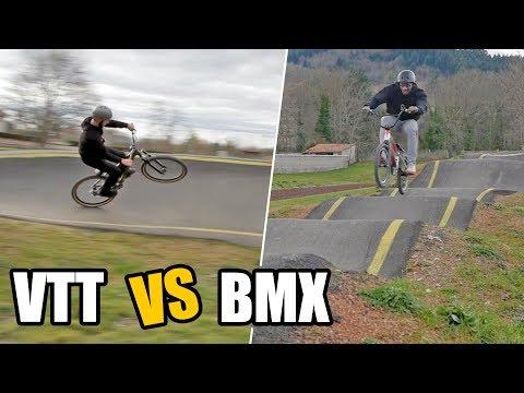 DEFI PUMPTRACK : VTT vs BMX (feat. Amidou Mir & Maxime Peythieu)