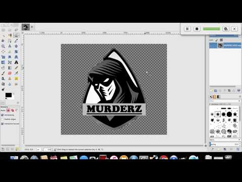 Gimp Tutorial : How to Crop or Cut Out Image