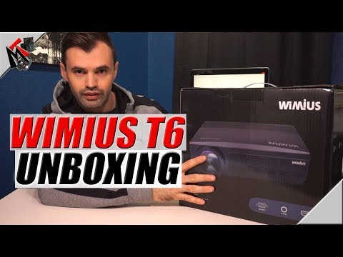 Wimius T6 Budget Friendly Projector (2018)- Unboxing and First Impressions