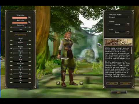 Runes of Magic - Gameplay and Character Creation