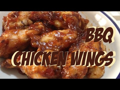 How to make BBQ chicken wings in microwave - with NO crisp plate #fastmicrowave