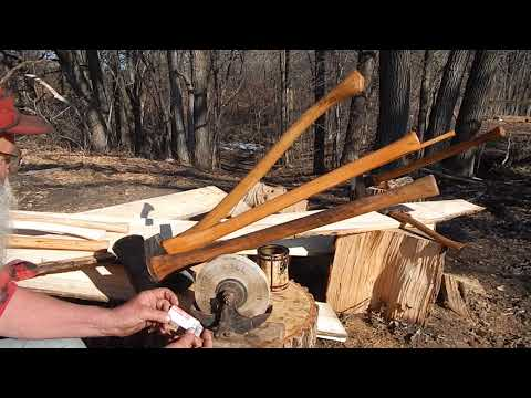 Bowman Axe Handle stock #
