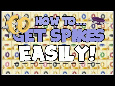 HOW TO GET RARE SPIKES! *SO EASY*