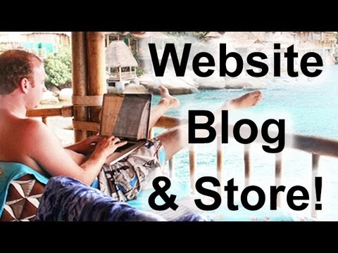 Build a Website, Store & Blog! - 2013
