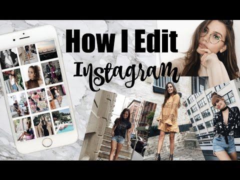 How I Edit My Instagram Photos | TessChristine