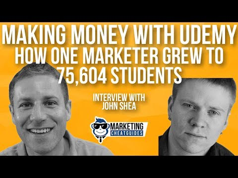 Making Money With Udemy: How One Marketer Grew To 75604 Students