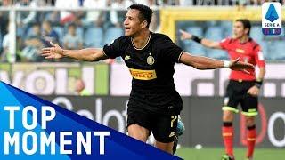 Sánchez scores and he is sent off! | Sampdoria 1-3 Inter | Top Moment | Serie A