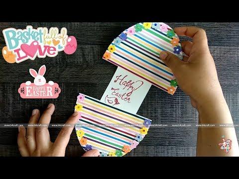 Easy DIY Easter Egg Card - Handmade Easter Greeting Card