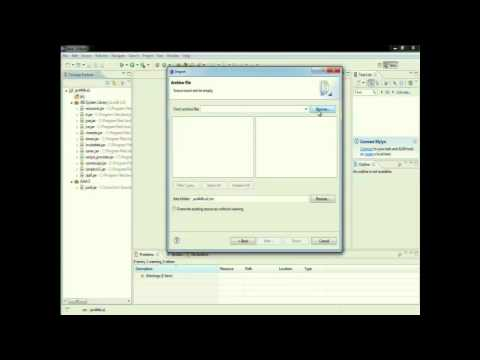 Eclipse - importing Java Packages and JAR Files